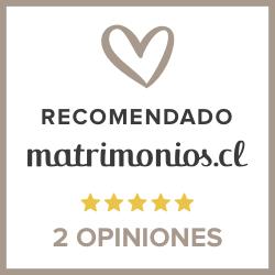 Recomendado en Matrimonios.cl