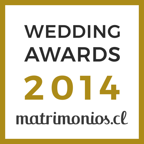 Ganador Wedding Awards 2014 matrimonios.cl