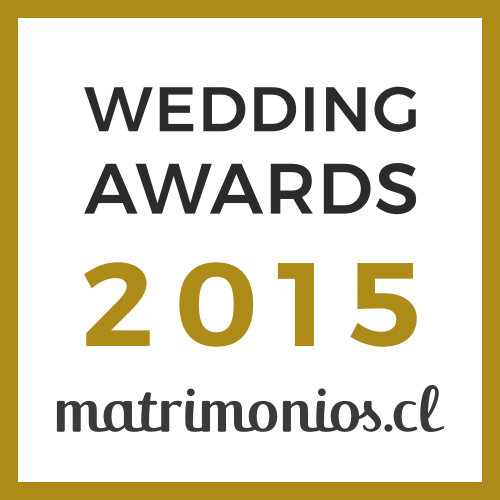 Ganador Wedding Awards 2015 matrimonios.cl