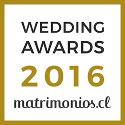 Ganador Wedding Awards 2016 matrimonios.cl