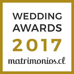 Ganador Wedding Awards 2017 Matrimonios.cl