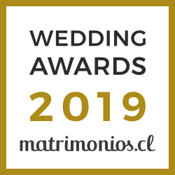 Nos casamos, ganador Wedding Awards 2019 Matrimonios.cl