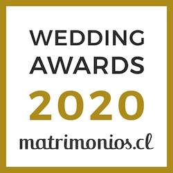 Ganador Wedding Awards 2020 Matrimonios.cl