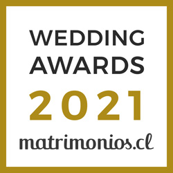 Ganador Wedding Awards 2021 Matrimonios.cl